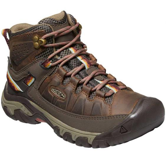 Keen Targhee III Mid Waterproof Bungee Cord/ Redwood 1024054 (Women's)