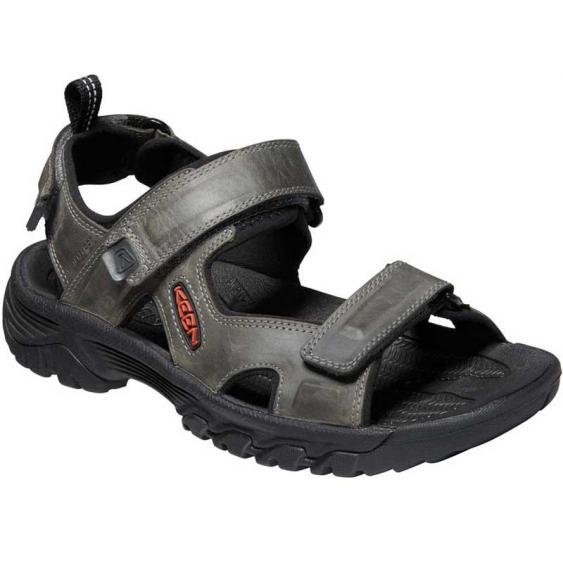 Keen Targhee III Open Toe Sandal Grey/Black 1022424 (Men's)