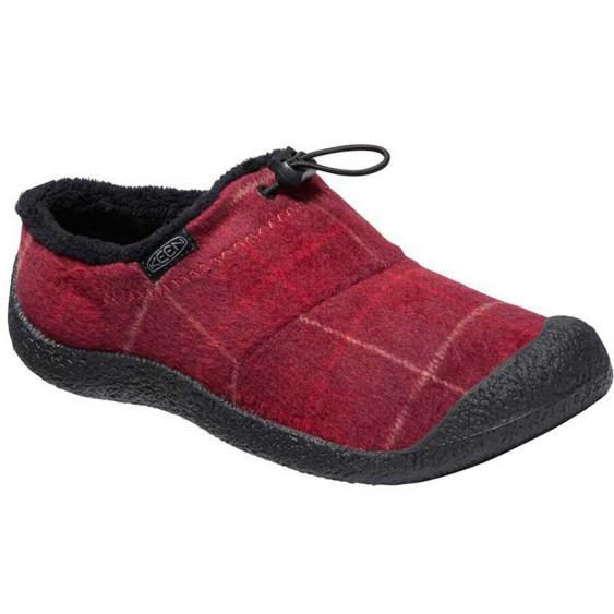 Keen Howser III Slide Red Plaid/ Black 1025539 (Women's)
