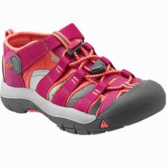 Keen Newport H2 Berry / Coral 1014267 (Youth)