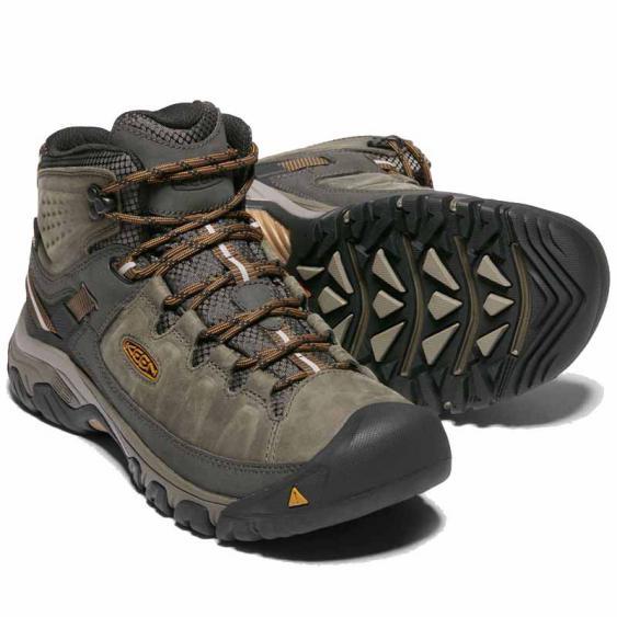 Keen Targhee III Mid Leather WP Black Olive 1017787 (Men's)
