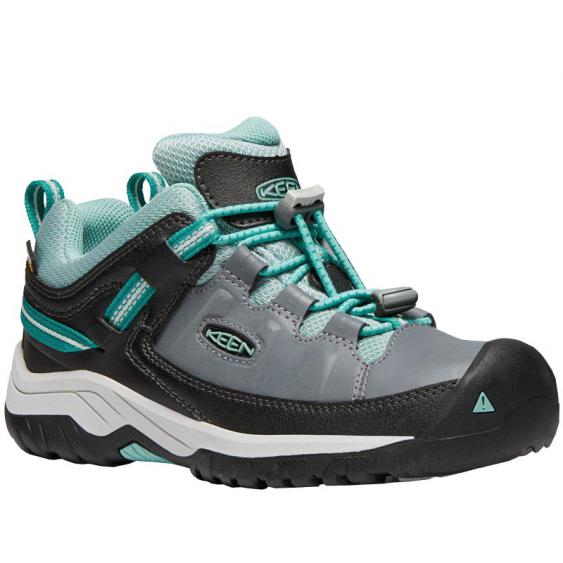 Keen Targhee Low WP Steel Grey/ Wasabi 1019830 (Youth)
