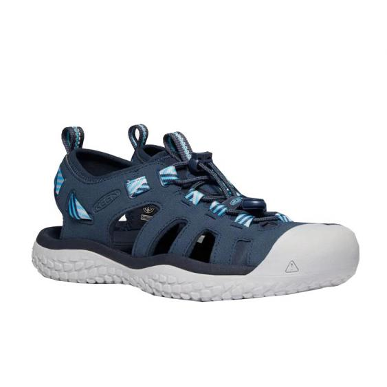 Keen Solr Sandal Navy/ Blue Mist 1022453 (Women's)