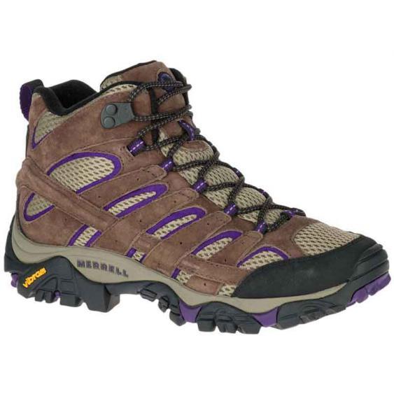 Merrell Moab 2 Mid Vent Braken/ Purple J06050 (Women's)