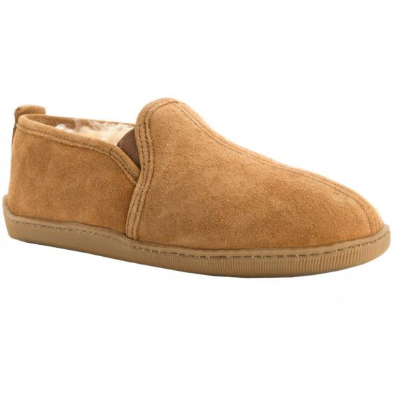 Minnetonka Twin Gore Sheepskin Suede 3731 (Men's)