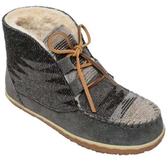 Minnetonka Torrey Grey 40144 (Women's)