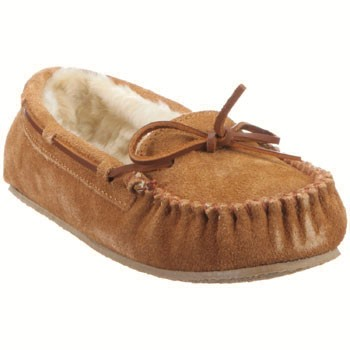 Minnetonka Cally Cinnamon Suede 4011 (Women's)