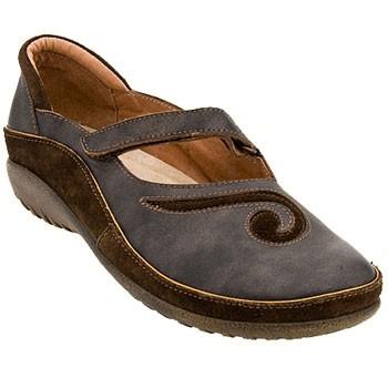 Naot Matai Black Pearl Leather/Hash Suede 11410-233 (Women's)