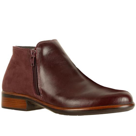 Naot Helm Bordeaux/ Violet Leather 26030-RK4 (Women's)