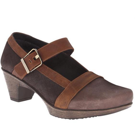 Naot Dashing Brown Hazel/ Mine Brown/ Saddle 44116-NCU (Women's)