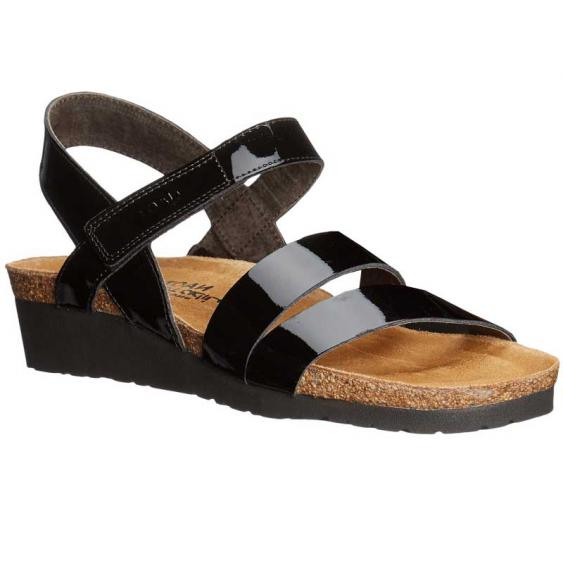 Naot Kayla Black Patent Leather 7806-501 (Women's)