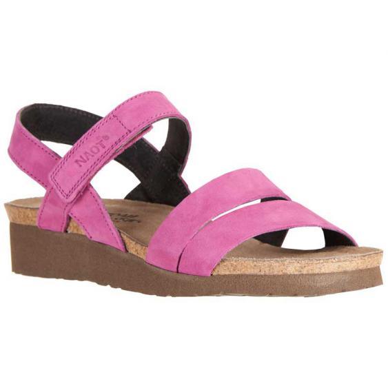 Naot Kayla Pink Plum Nubuck 7806-C57 (Women's)