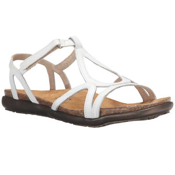 Naot Dorith White Leather 4710-024 (Women's)