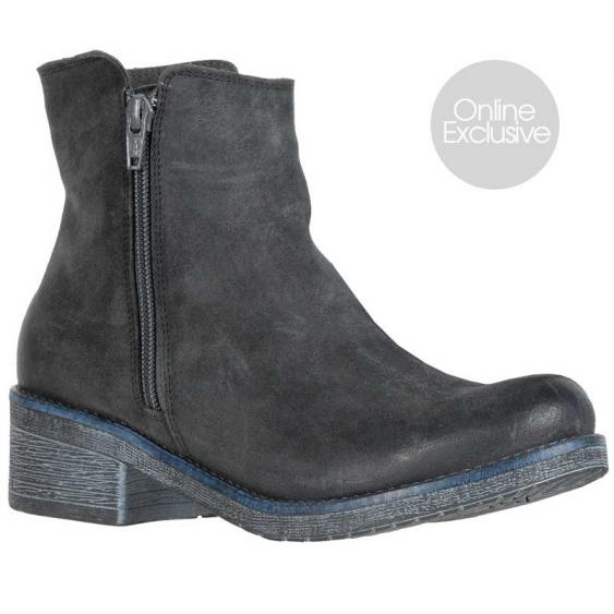 Naot Wander Brushed Oily Midnight Suede 17609-M04 (Women's)