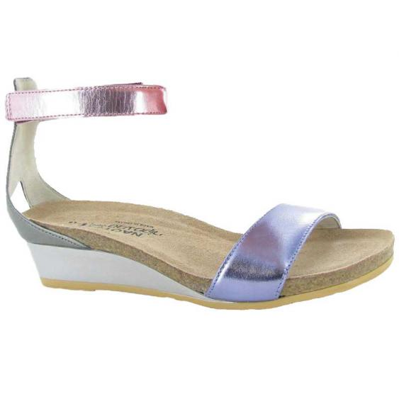 Naot Pixie Purple Mirror Leather/ Pink Mirror Leather/ Sterling Leather 5016-PDU (Women's)