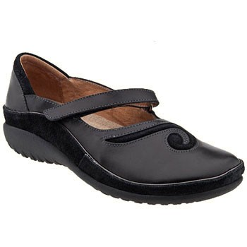 Naot Matai Midnight Leather/Black Suede 11410-824 (Women's)