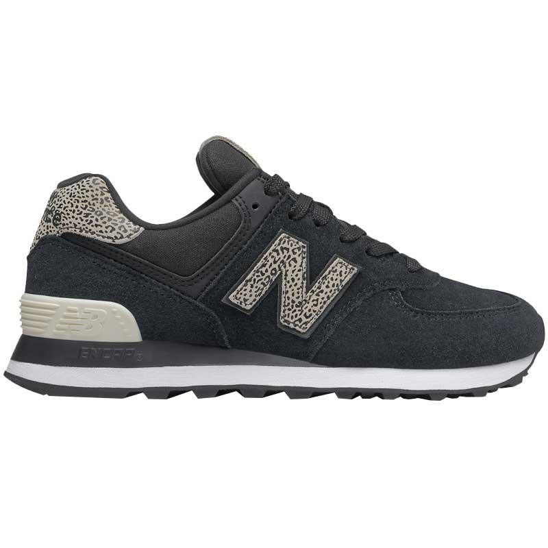 New Balance 574 Black/Angora WL574ANC