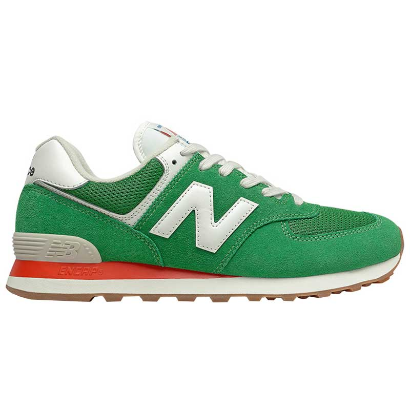 New Balance 574 Varsity Green/ Velocity Red ML574HE2 (Men's)