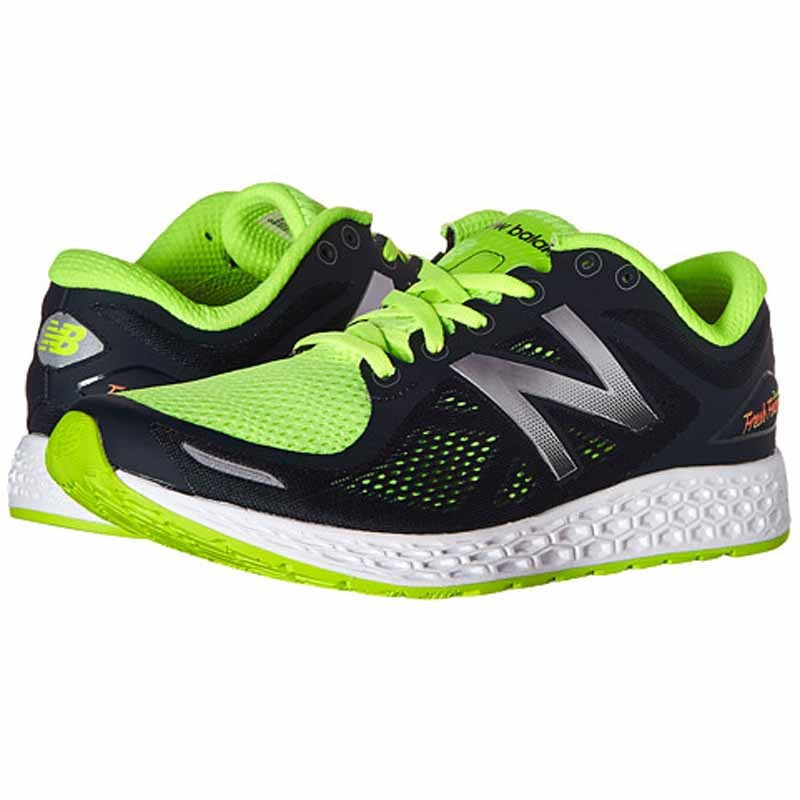 new balance green and black