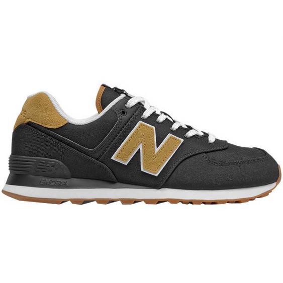 New Balance 574 Black/ Workwear ML574BK2 (Men's)