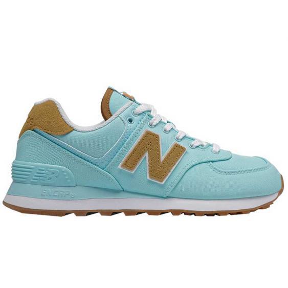 New Balance 574 Blue Chill/ Workwear WL574BA2 (Women's)