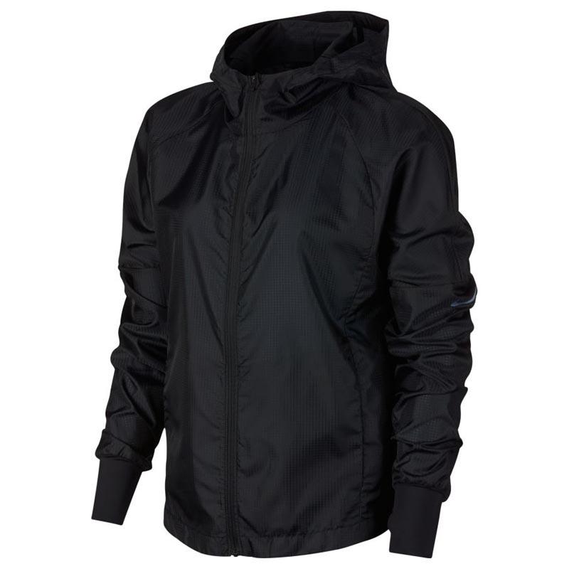 Nike HD Lightweight Jacket Black Silver BV4939 010 (Women's)