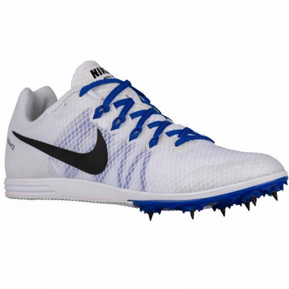 Nike Zoom Rival D 9 White / Blue / Black 806556-100 (Unisex)