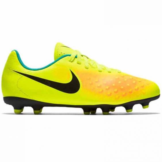 Nike JR Magista OLA II FG Volt / Orange / Black 844204-708 (Youth)