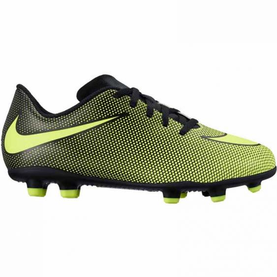 Nike JR Bravata II FG Black / Volt 844442-070 (Youth)