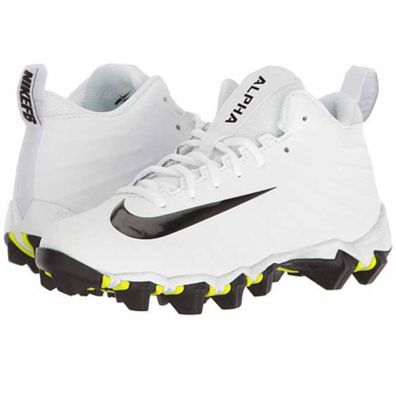 Nike Menace Shark BG White / Black 880129-100 (Youth)