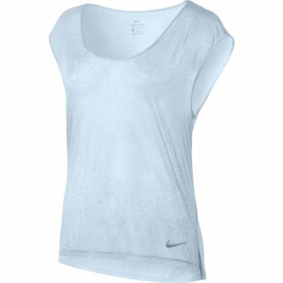 Nike Breathe SS Tee Cool Glacier Blue 831784-411 (Women's)