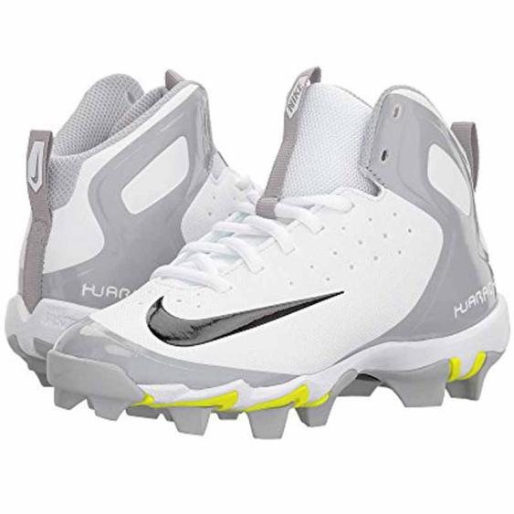 Nike Alpha Huarache Keystone Mid White / Black 923430-101 (Youth)
