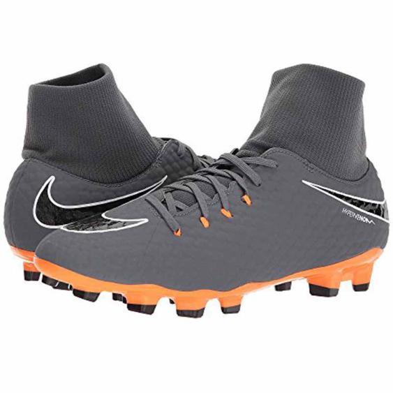 Nike Hypervenom Phantom 3 Grey / Orange AH7268-081 (Men's)
