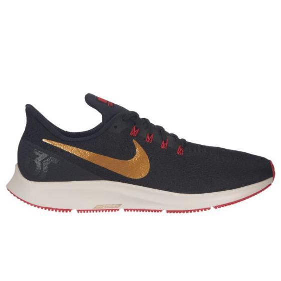 Nike Air Zoom Pegasus 35 Black/ Gold/ Red 942851-018 (Men's)