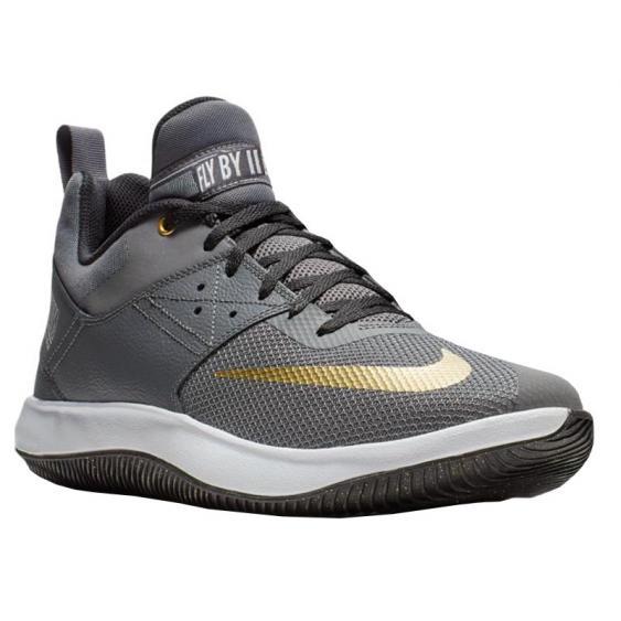Nike Fly By Low II Grey/ Gold/ Black AJ5902-002 (Men's)
