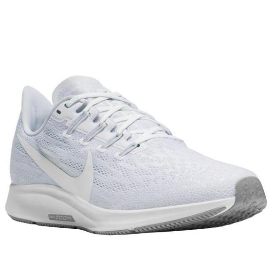Nike Air Zoom Pegasus 36 White/ Half Blue/ Grey AQ2210-100 (Women's)