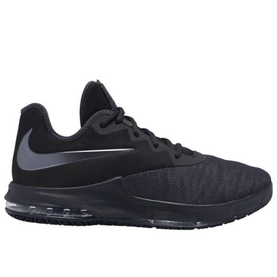 Nike Max Infuriate III Low Black/ Metallic Grey AJ5898-007 (Men's)