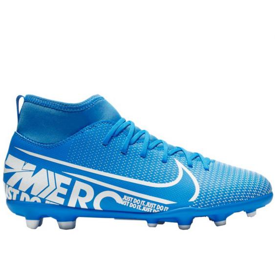 Nike JR Superfly 7 Club FG/MG Blue Hero/ White AT8150-414 (Youth)