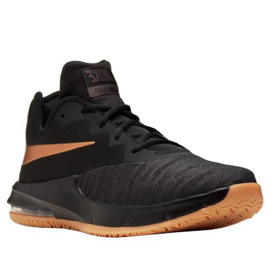Nike Air Max Infuriate III Low Black/ Copper/ Grey AJ5898-009 (Men's)