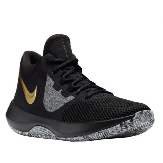 Nike Air Precision II Black/ Metallic Gold AA7069-090 (Men's)