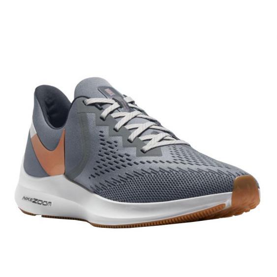 Nike Air Zoom Winflo 6 Smoke Grey/ Copper AQ7497-014 (Men's)
