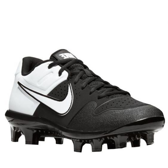 Nike Alpha Huarache Varsity Low MCS Black/ White AO7959-003 (Men's)