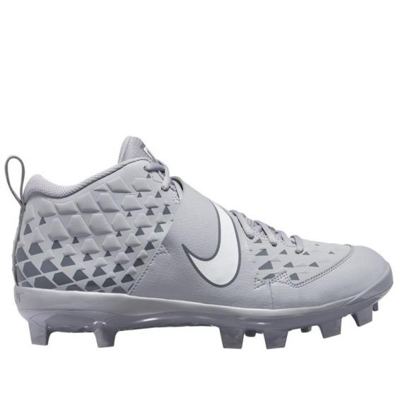 Nike Force Trout 6 Pro MCS Wolf Grey/ White AT3461-001 (Men's)
