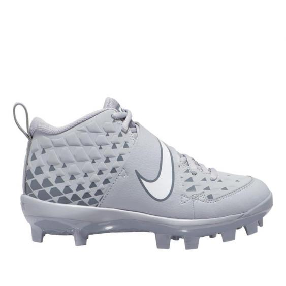 Nike Force Trout 6 Pro MCS Wolf Grey/ White AT3462-001 (Youth)