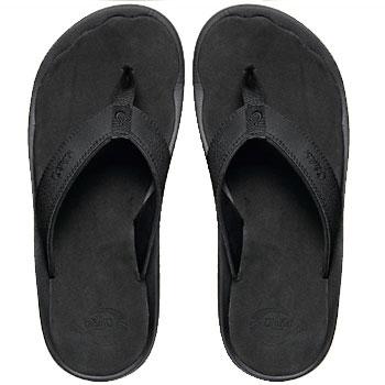 OluKai Ohana Black / Black 10110-4040 (Men's)