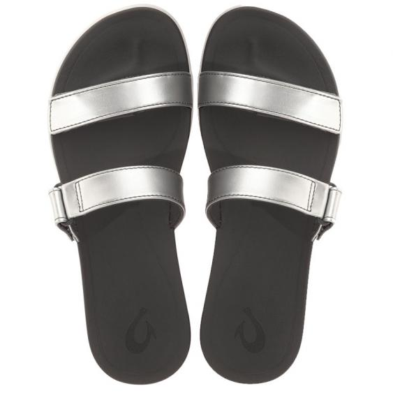 OluKai Kipuka Silver/ Dark Shadow 20316-8B6C (Women's)