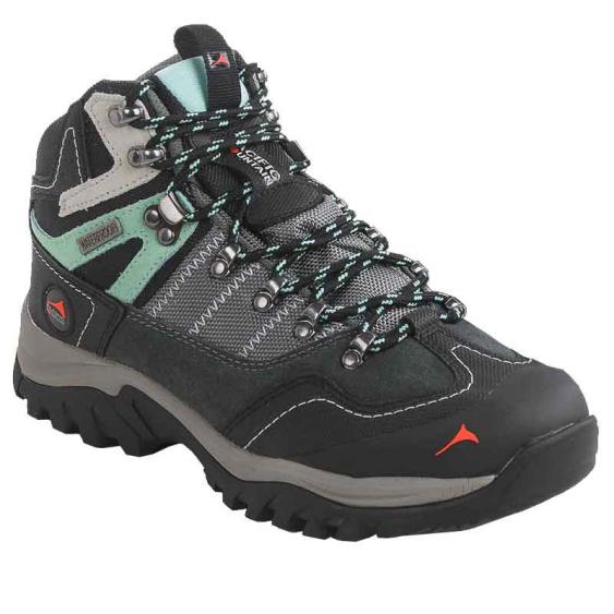 Pacific Mountain Ascend Mid Gunmetal/Black/Cabbage PM005041-021 (Women's)
