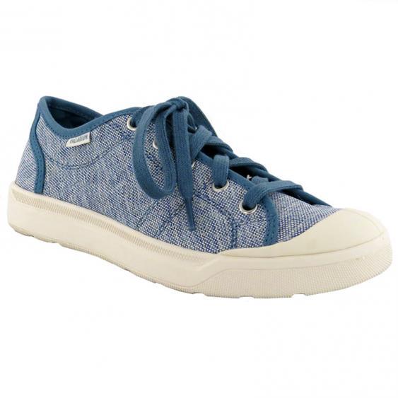 Palladium Pallarue TX Blue / Marshmallow 93705-495 (Women's)