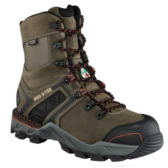 Irish Setter by Red Wing Crosby 8'' Grey 83842 (Men's)