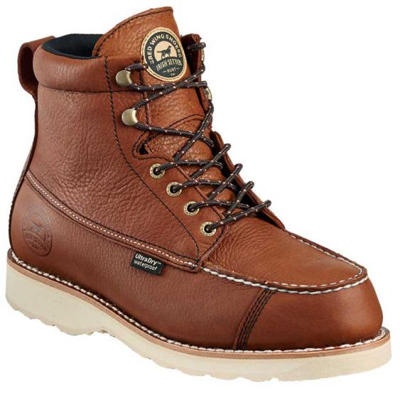 Irish Setter by Red Wing Wingshooter 7'' Soft Toe Amber 00838 (Men's)